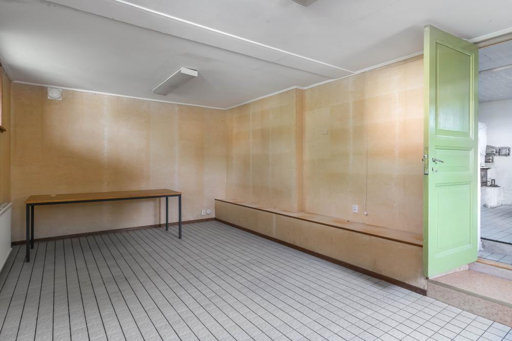 Förrådsrum intill tvättstugan